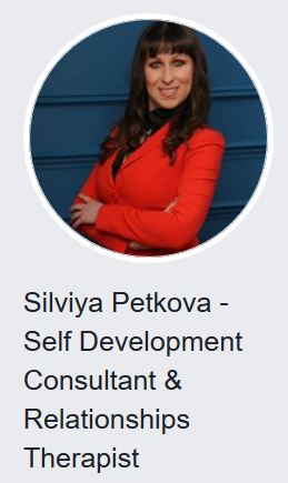 silviya petkova self development consultant relationships therapist