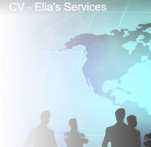 professional cv ndash elia rsquo s services