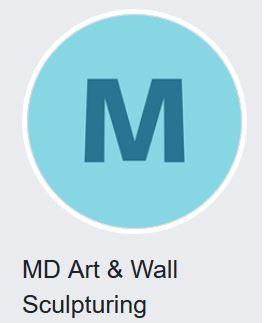 md art wall sculptoring